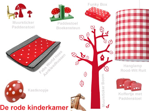 kinderkamer rood  consenza for ., Meubels Ideeën